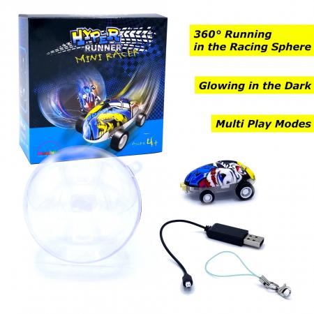 Hyper Runner Mini Racer - Mașină cu telecomandă mini5