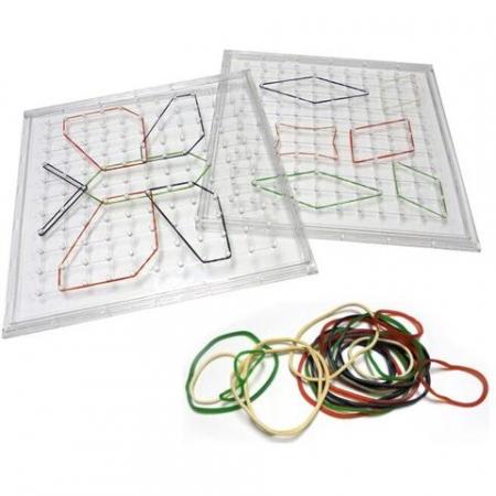 Joc creativ cu elastice - Geoboard2