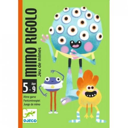Joc cu cărți Djeco Mimo Rigolo0