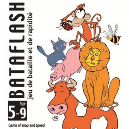 Joc de cărți Djeco Bataflash0
