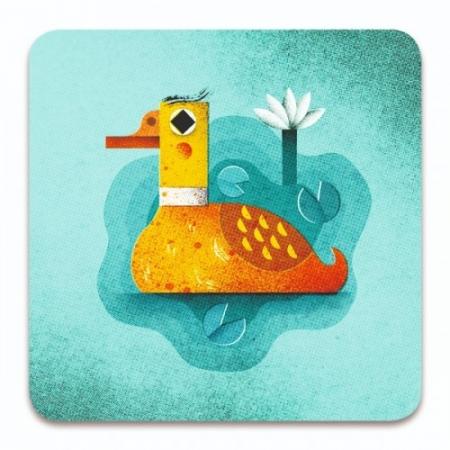 Joc de cărți Djeco Crazy ducks2