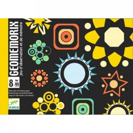 Joc de cărți Djeco Geomemorix0