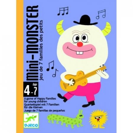 Joc de cărți Djeco Mini monster0
