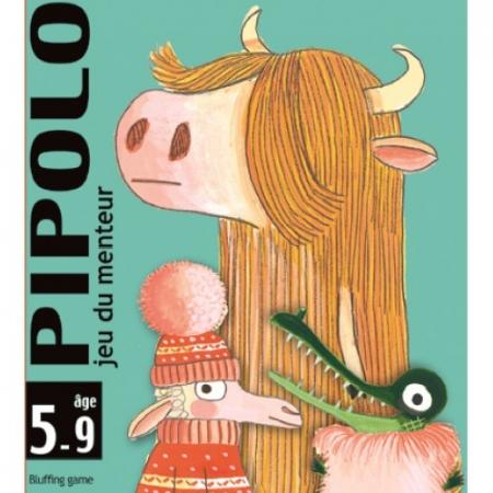 Joc de cărți Djeco Pipolo0
