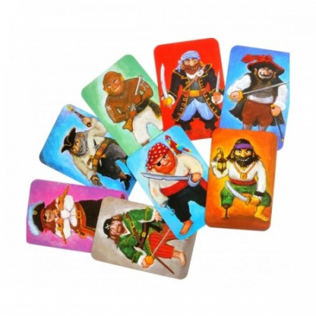 Joc de cărți Djeco Piratatak1