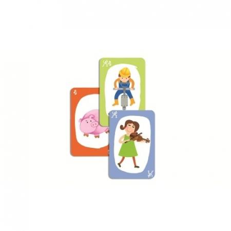 Joc de cărți Djeco Pouet Pouet1