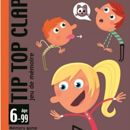 Joc de cărți Djeco Tip Top Clap0