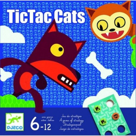 Joc de strategie TicTacCats Djeco0