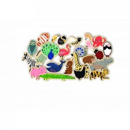 Joc magnetic cu animale Djeco [1]