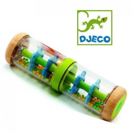 Jucărie bebe Ploaie colorată Verde Djeco [0]