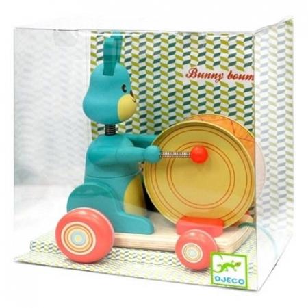 Jucărie de tras iepurașul Bunny boum Djeco [0]