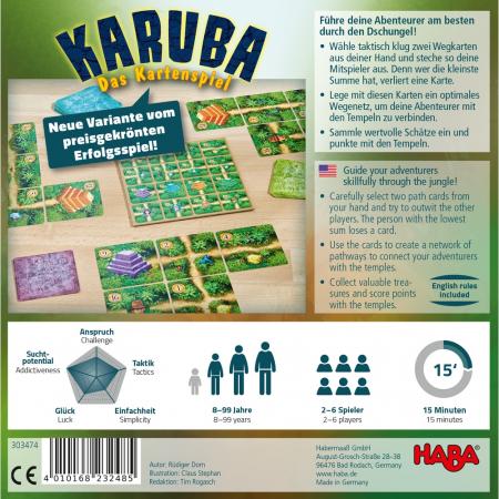 Karuba – jocul de cărți, Haba1