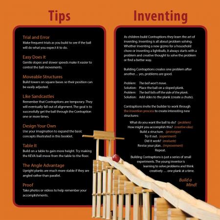 KEVA Contraptions 200 Plank Set, joc de construcție cu piese de lemn3