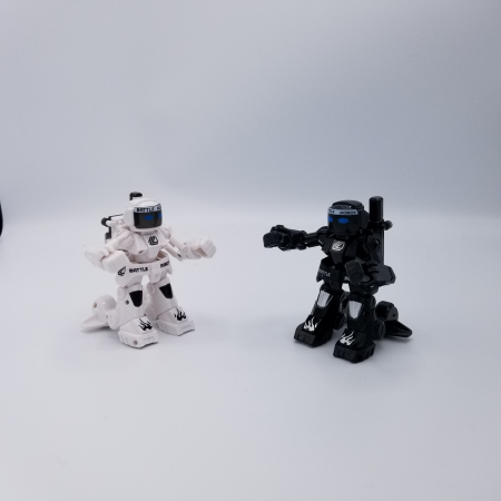 Set de 2 roboți cu telecomandă, pentru copii - KO Bot5