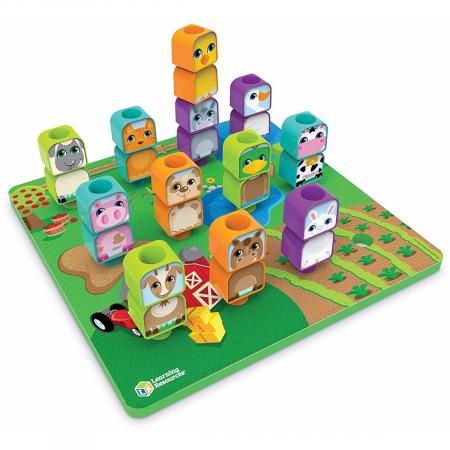 Learning Resources Joc de construcție - Prietenii de la fermă1