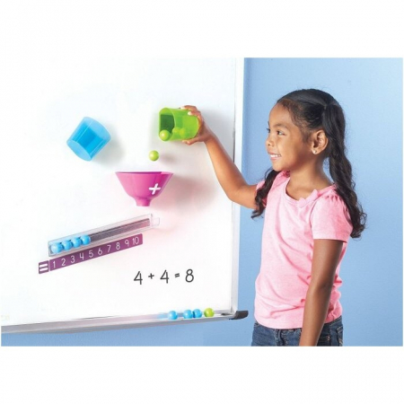 Learning Resources Joc magnetic - Distracție matematică1