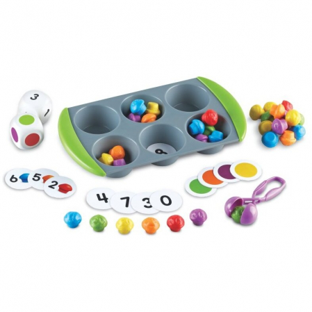 Learning Resources Joc matematic - Mini brioşe4