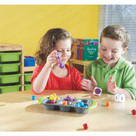Learning Resources Joc matematic - Mini brioşe3