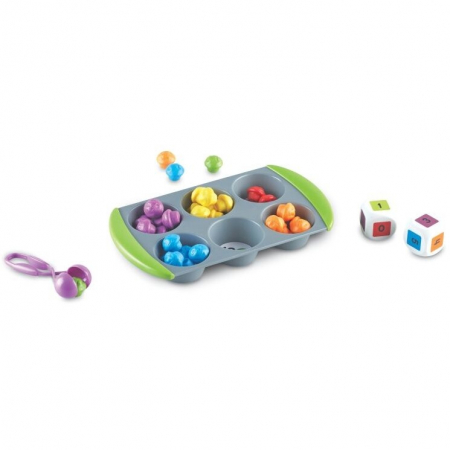 Learning Resources Joc matematic - Mini brioşe1