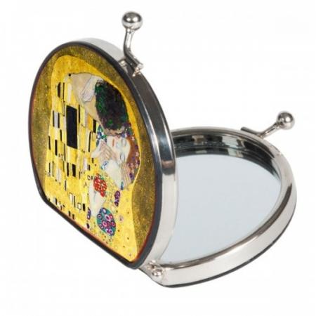 Oglindă Fridolin Klimt, Sărutul1