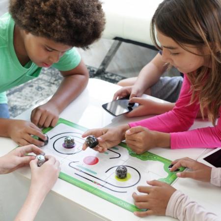 Ozobot Evo smart mini robot - Crystal White:Starter Kit4