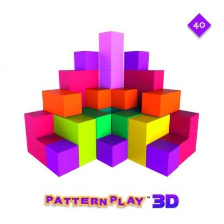 Pattern Play 3D, joc de construcție din lemn, cu structuri 3D [1]