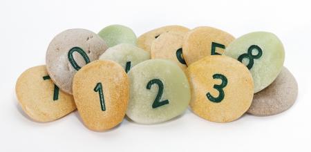 Pietricele cu numere - Set Matematica [4]