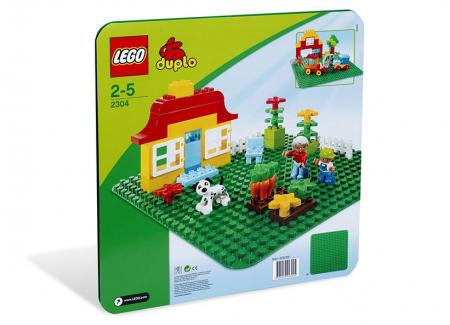 Placa verde LEGO DUPLO  (2304)0