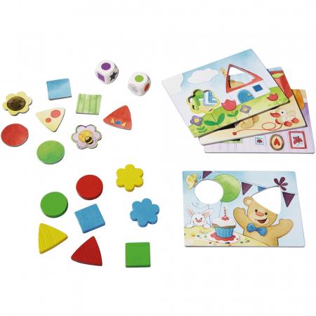 Primele mele jocuri: Învață culorile și formele cu Teddy - Haba1