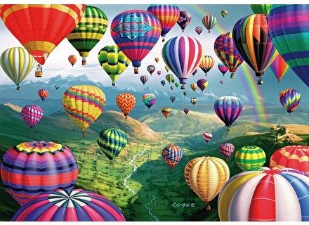 Puzzle din lemn Baloane colorate  – Wentworth [0]