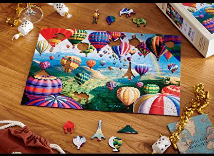 Puzzle din lemn Baloane colorate  – Wentworth [1]