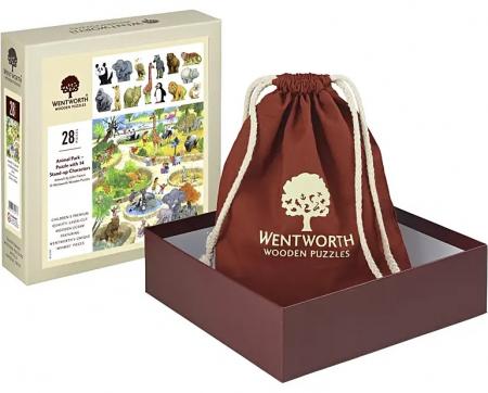 Puzzle din lemn Parcul cu Animale - Wentworth0