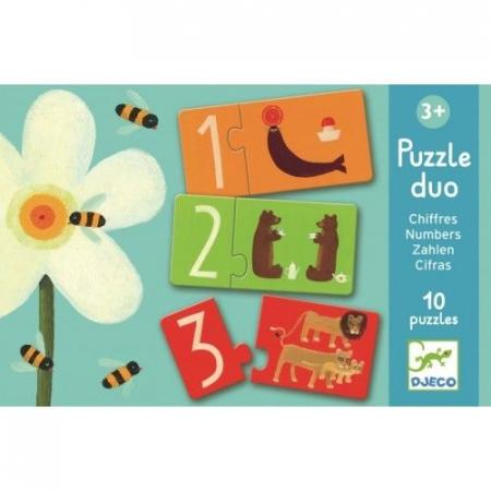 Puzzle duo Numere Djeco [0]
