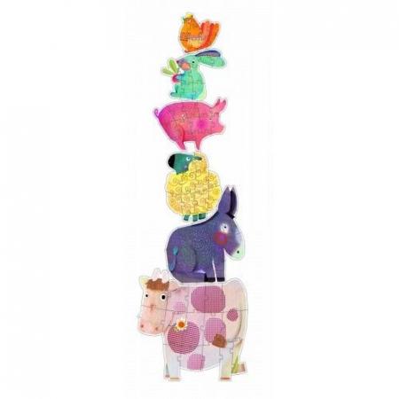 Puzzle gigant animale domestice Djeco1