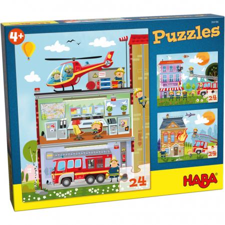 Puzzle Stația de pompieri0