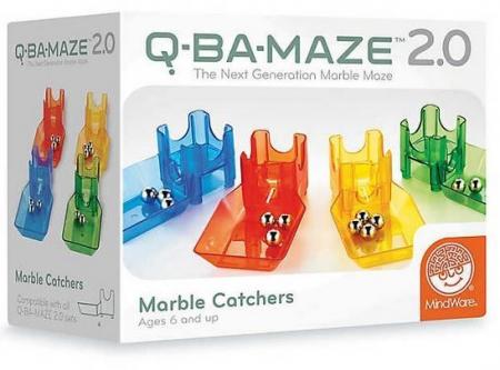 Q-BA-MAZE 2.0 Marble Catchers