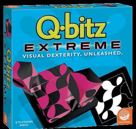 Q-bitz Extreme, joc de logică cu piese din lemn0