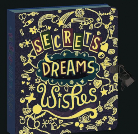 Secrets, Dreams, Wishes Diary1