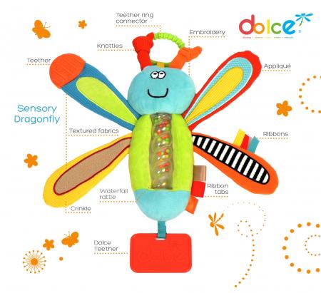Libelulă, jucărie senzorială1