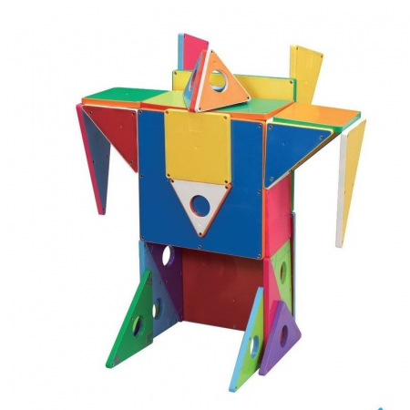 Set magnetic Geometric Solids Magna-Tiles (33 piese)1