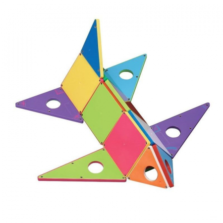 Set magnetic Geometric Solids Magna-Tiles (33 piese)3