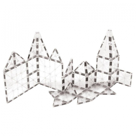 Set magnetic ICE Transparent Magna-Tiles (32 piese)2