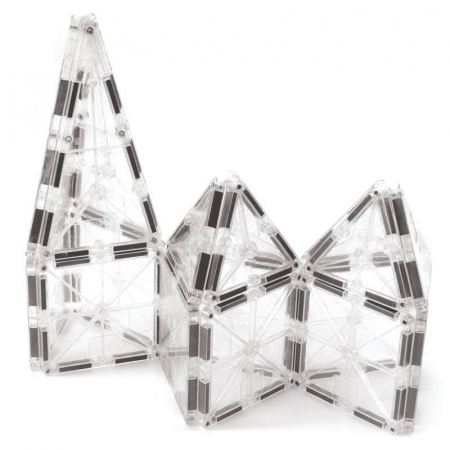 Set magnetic ICE Transparent Magna-Tiles (32 piese)4