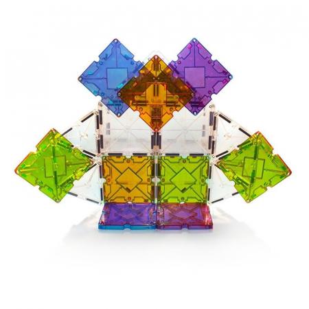 Set magnetic Magna-Tiles Freestyle cu magneți mobili (40 piese)2
