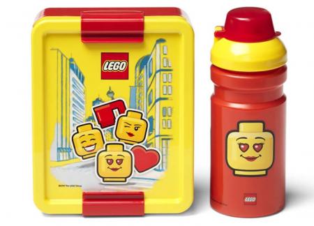 Set pentru pranz LEGO Iconic rosu-galben (40581725) [2]