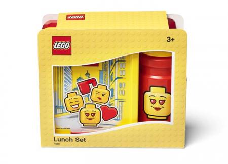 Set pentru pranz LEGO Iconic rosu-galben (40581725) [0]