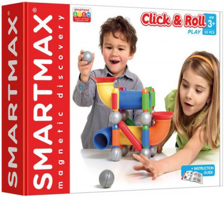 "SMARTMAX ""PLAY"" - Ball Run Fun Click & Roll0"
