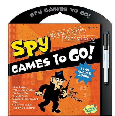 Spy games to go0
