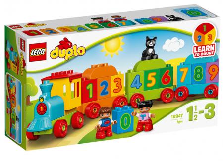 Trenul cu numere LEGO DUPLO (10847)0