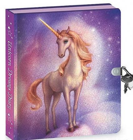 Unicorn Dreams Invisible Ink Diary0